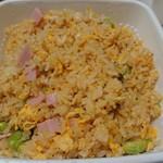 中国料理 堀内 - いろいろお豆のガーリックチャーハン(890円)