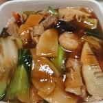 中国料理 堀内 - 五目ヤキソバ(980円)