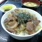 こずえ食堂 - お気に入りの肉丼 (¥600)