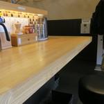 麺匠 たか松 - 店内の様子