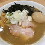 MONCHAN RAMEN SHUN - 料理写真:ニボデビル+味玉
