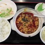 食彩ガーデン - マーボー豆腐定食