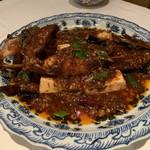117057964 - カサゴの麻婆豆腐