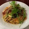 ロス・アンジェルス - 料理写真:モッツァレラチーズとトマトのスパゲッティ