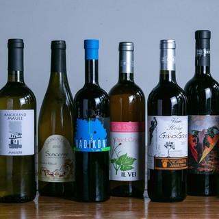 ヴァンナチュールワインと共に。