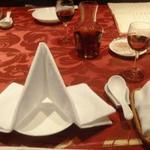 Tenshinhanten - テーブルセッティング。