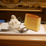 北海道牛乳カステラ - 料理写真:
