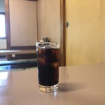 大清 - 食後のアイスコーヒー