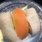 もり一 - 新鮮。均一ですので、三点盛りも180円です。普通に美味しかったです(^○^)