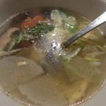 牛繁 - ふんわり玉子スープ