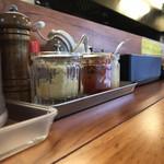 横浜家系 麺屋はやぶさ - おろしショウガ有り