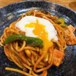スパゲティ屋くぼやん - ナポリタン温玉のせ