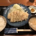 とんかつ ひびき - 料理写真:・特上ロースかつ 1,500円(税込)