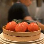 117088880 - 綺麗で美味そうなトマトは、フレンチ・イタリアンの基本ですね。(^。^)