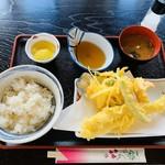 定食たちばな - 料理写真:天ぷら定食