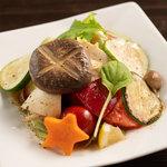 バルニューヨークTOKYO - 有機野菜のさっぱりマリネ