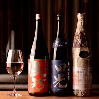 ★店長自身が『旨い!』と感じたグラスで頂く厳選日本酒◎