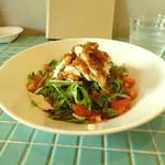 ザ フェイス カフェ - 料理写真:鶏肉の野菜のせご飯