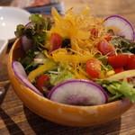 横須賀ビール - 季節の横須賀野菜サラダのハーフ