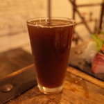 横須賀ビール - 釜利谷シイタケエール Glass