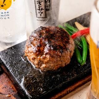 お酒に良くあう♪渋谷ハンバーグでググれば出て来るハンバーグ