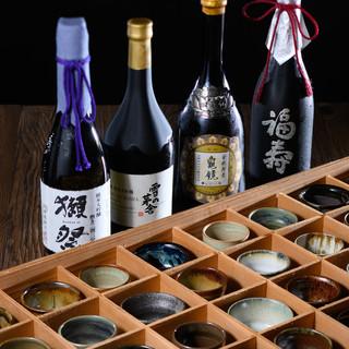 【若女将厳選の日本酒】料理を引き立てる銘酒、季節の美酒
