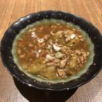 中国薬膳料理 星福 - 茯苓入り茄子の豆鼓炒め