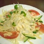 You膳 - 料理写真:京湯葉と豆腐サラダ