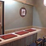 新松 - 内観写真:カウンター・椅子席