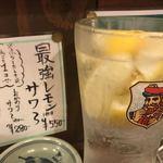 117103466 - 最強レモンサワー550円