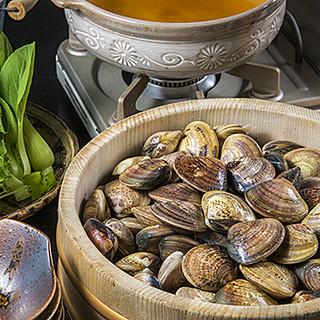 三重県産ハマグリをつかみ取り!ブランド牡蠣の逸品もございます