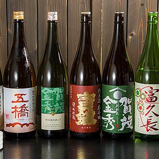 広島県の地酒、季節の銘酒は週替わりでご用意!定番の一杯も豊富