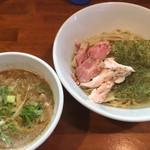 自家製麺 ラーメンK - つけ麺(正油)750円
