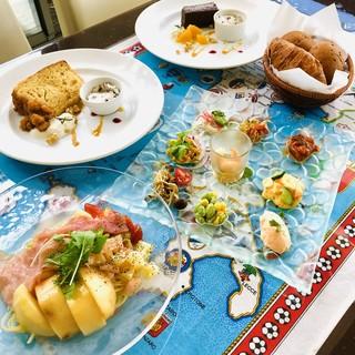ランチ1500円◆水辺に面したサンルームで至福のランチを☆