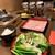 しゃぶらく - 料理写真:豚しゃぶ定食・お肉一皿。1274円