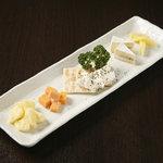 テランガ - チーズの盛り合わせ