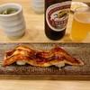おしどり寿司 - 料理写真:ビールと焼き穴子
