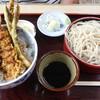 春日野 - 料理写真:サービスセットミニ天丼ともりそば