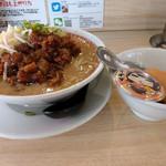 肉汁麺ススム - 肉汁麺レベル1がコラボでレベルUP~☆