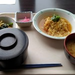 明石市役所南会議室棟2階 食堂 - 料理写真:白身魚玉子とじ・A定食