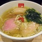 麺処 天川 - 料理写真:【味玉塩らあめん】¥880