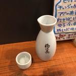 十割蕎麦酒場 ちゃぼうず - ドリンク写真:日本酒福徳長