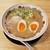 天下一品 - 料理写真:こってり 並 味付煮玉子