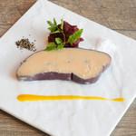 鴨フォアグラの赤ワイン煮