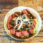 MUNYA - 牛ハラミのステーキ丼