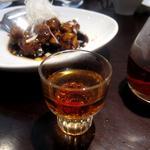 真 - 甕だし紹興酒 & 魅惑の黒酢酢豚
