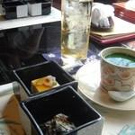 11712585 - 雪ランチ 小鉢&茶碗蒸し
