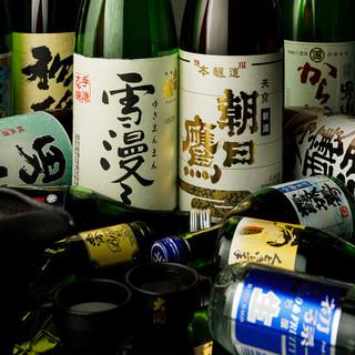 山形の地酒を多数取り揃えております。