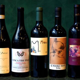 至極の品揃えのワインと日本酒各150種以上
