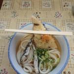宮川製麺所 - うどん(小)とこんにゃく天